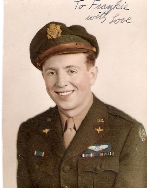 1st Lt. Ira Wellins, 351st Heavy Bombardment Group, 510th Squadron (sometimes 511th), Polebrook, England. Flew 29 missions in Europe,  7 as navigator and 22 as