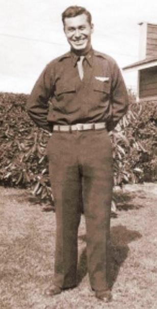 2Lt Anthony L W Amaya,    was born on June 13, 1917. According to our records California was Amaya's home or enlistment state. Furthermore, we have Gonzales listed as the city and Monterey County included within the archival record.  Enlisted in the Army Air Forces. Served during World War II. Amaya had the rank of Second Lieutenant. Occupation or specialty was Bombardier. Service number was 733509. Served with 379th Bomber Group, Heavy, 524th Bomber Squadron.  Amaya experienced a serious casualty which ultimately resulted in loss of life on June 11, 1943. Circumstances of the casualty were attributed to: