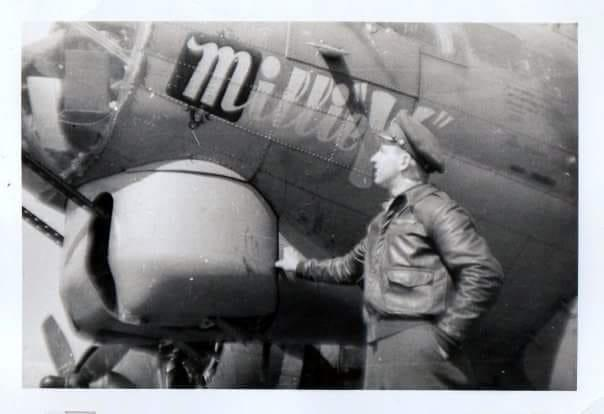 B17G Millie K named after the Girlfriend of the original pilot Paul Kelly