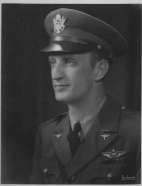 Lieutenant Colonel Townsend Griffiss, aide to Major General James E Chaney.