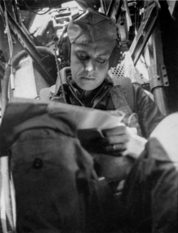 Flight Engineer during crew training 1944 in the South Eastern Training.