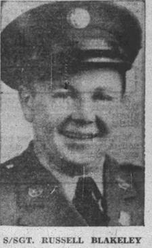 Russell Blakely of the 452nd Bomb Group