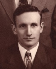 Photo of Ralph Squires, cropped from the one showing him and his five brothers (William, Earl, Paul, Harold and Hugh) on the William D. Squires Foundation website at https://wmdsquiresfoundation.org/about-the-foundation/  The six brothers served in the military in World War II and all saw combat, all returning home safely. Their mother received a letter of acknowledgement expressing the nation's gratitude from The Secretary of War.