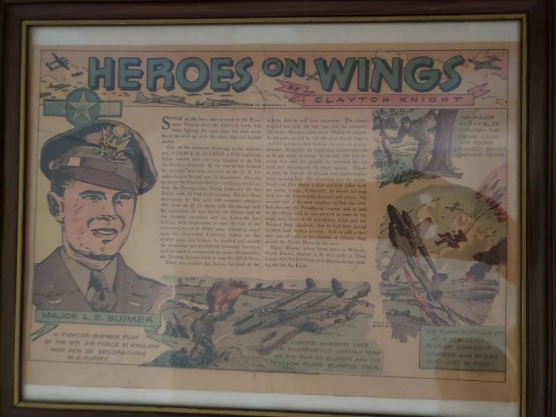 Heroes on Wings by Clayton Knight featuring Laurence