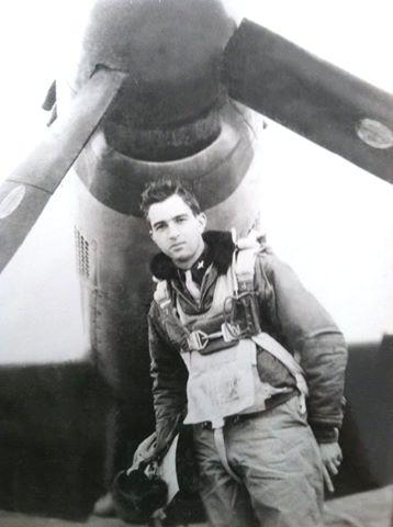 Lt. Carl M. Anderson flew with the 368th Fighter Squadron, 359th Fighter Group, from 2 August 1944 through 21 November 1944 when the 359th flew an escort to Merseburg in inclement weather. Over 200 enemy planes were sighted and engaged on the flight, with Lt. Anderson crashing near Sonderhausen. He was a POW in Balaria and Mooseburg, Germany, until the end of the war.
