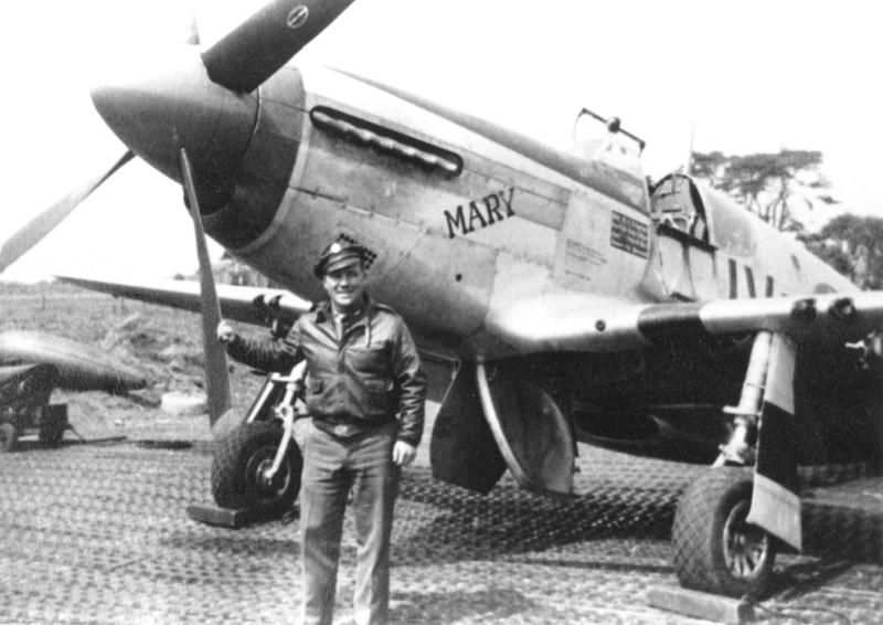 Lt. Lawrence H. Bouchard, of Ogdensburg, NY, served with the 369th Fighter Squadron, 359th Fighter Group, from April 1943 through 14 August 1944 when, having flown 300 combat hours, Lt. Bouchard was then assigned to Fighter Command.