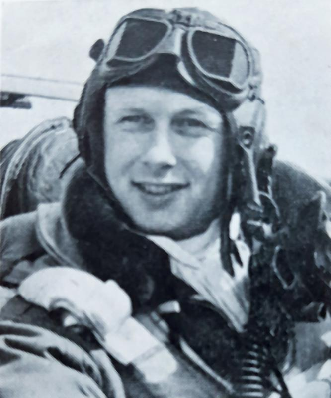 KIA on 11 September 1944, F/O Charles R. Breuning flew 33 combat missions with the 369th Fighter Squadron, 359th Fighter Group, after joining it on 3 June 1944. From San Antonio, TX, F/O Breuning was buried in the Netherlands American Cemetery.