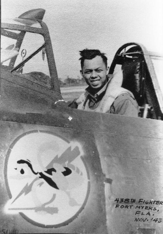 Lt. Frank S. Fong, 359th Fighter Group, 369th Fighter Squadron.
