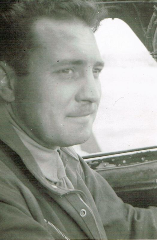 Pilot of 44-6133 2nd Lt Armand J. Ramacitti. Photo courtesy of Jeanne Cronis-Campbell, via Mitch Peeke. Photo was taken by 2nd Lt Theodore