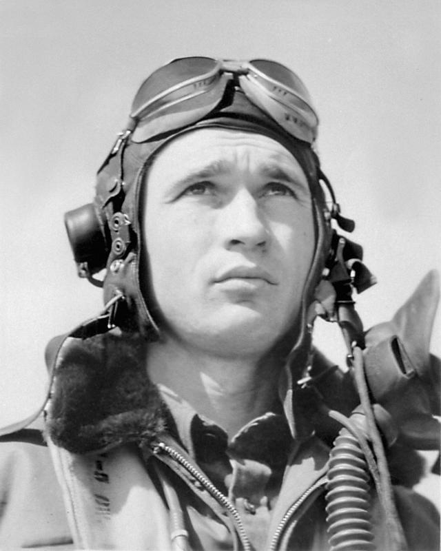 Woodrow Anderson of the 352nd Fighter Group.
