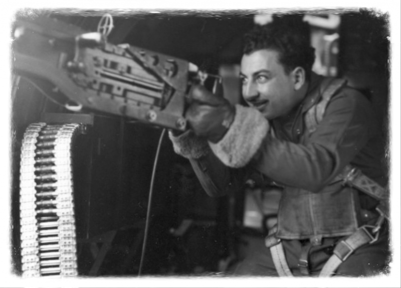 SSgt Philip Scriffignano,   Left Waist Gunner on B17G 42-107076, 563rd Bomber Squadron, 388th Bomber Group.  Target of the Focke-Wulf Aircraft factory at Poznan, Poland. While on this mission they were hit by enemy flak and severely damaged. Philip was declared
