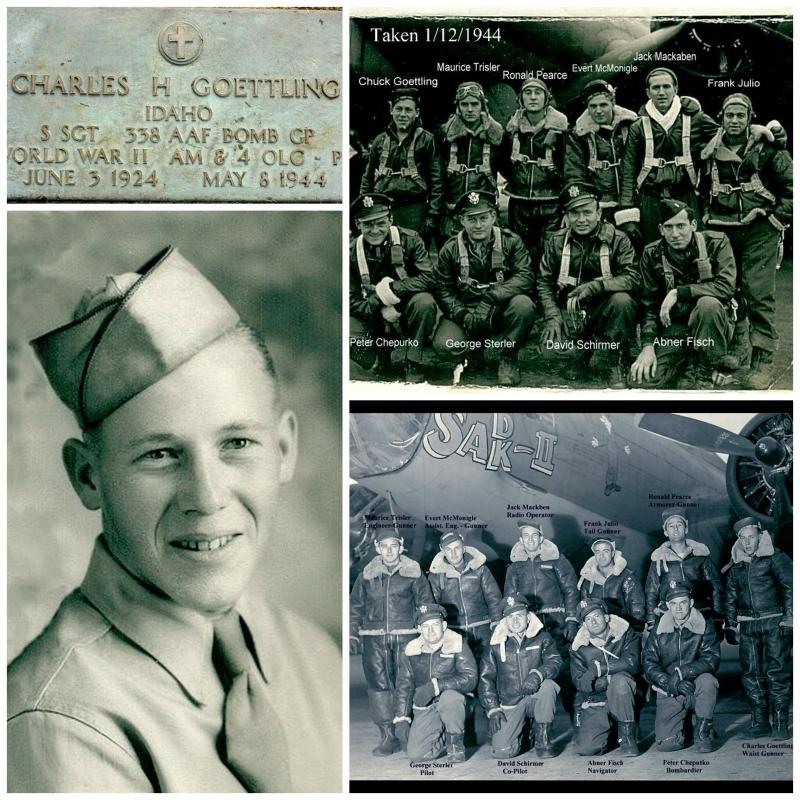 SSGT Charles Goettling and crew