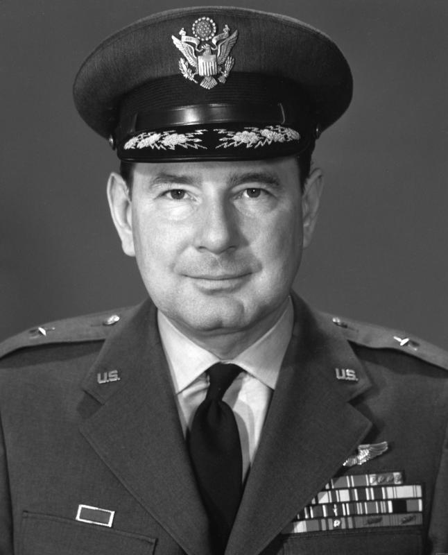 USAF portrait of Brigadier General Charles Mathes Young Jr.