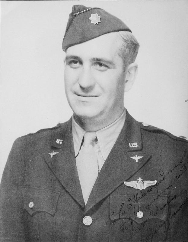 Colonel William J. Wrigglesworth, second Commanding Officer, 447th Bombardment Group (H)