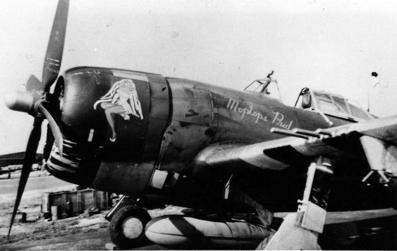 P-47D 42-26258 coded UN-T(bar) of the 63rd Fighter Squadron and named