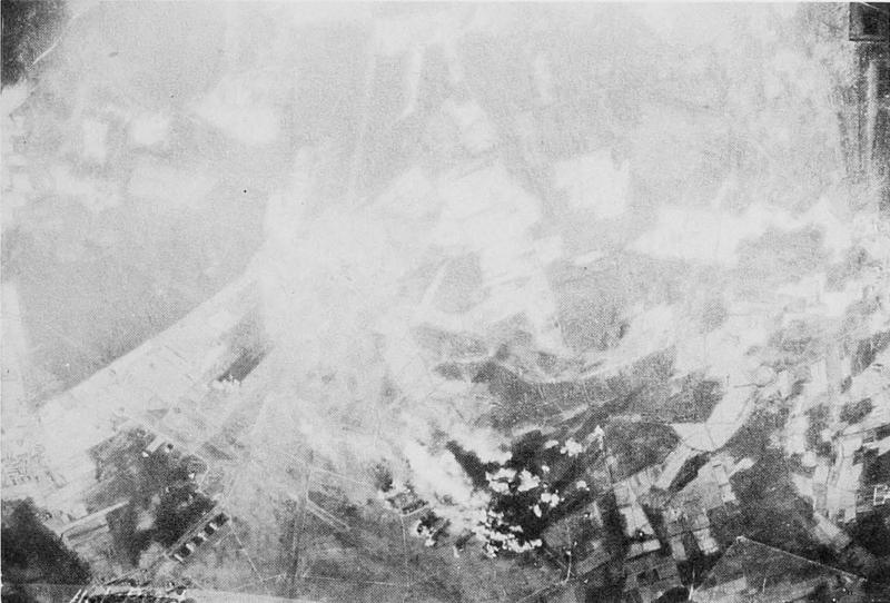 8th air force mission 178; 7/1/44; Ludwigshafen