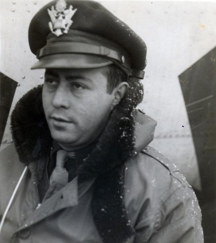 F/O Max Bunin Co-Pilot originally with the Jammie Philpott Crew and flew 14 missions with the Gross Crew 95BG - 336BS