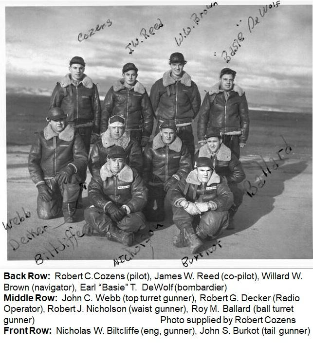 Robert C. Cozens Crew
