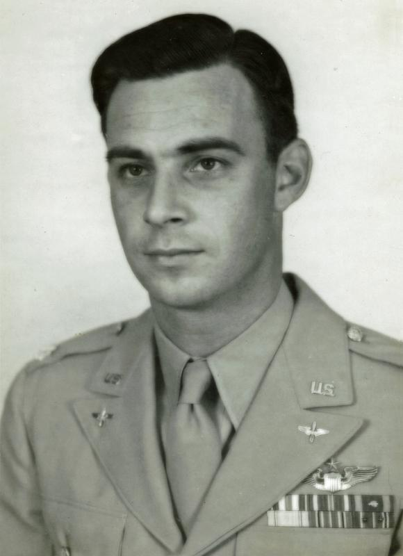 Colonel Rudy Flack was promoted as the Assistant to Air Force Chief of Staff, Headquarters, Second Air Force located at Peterson Air Force Base in Colorado Springs, CO on June 21, 1945.