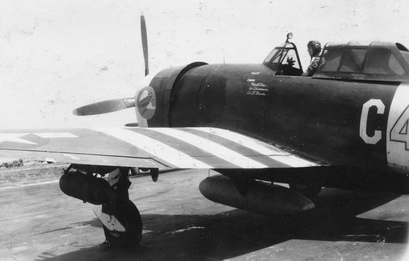 P-47D-15-RE #42-76340  Code:  C4-W 365th Fighter Group - 388th Fighter Squadron - 9th AF