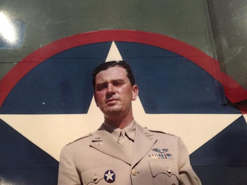 Capt. John S. Young  -  from Dallas, Texas  -  In the 9th Air Force - the 98th Bomb Group - and the 344th Bomb Squadron.  Lt. Young was assigned to fly with Col. John R.