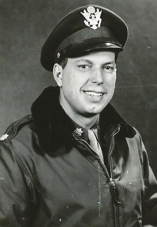 Major Herman Laubrich Commander of the 786th Bomb Squadron of the 466th BG.