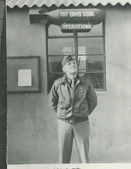 Lt. Frank Wolcott - 787th BS Operations Officer