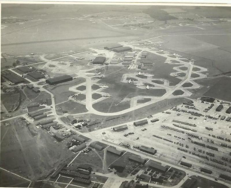 Aerial View of Station 547 Abbots Ripton