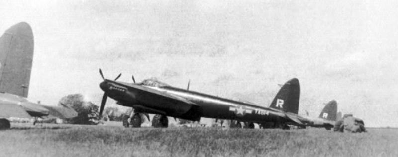 de Havilland DH98 Mosquito TA614 of the 801st-492nd Bombardment Group