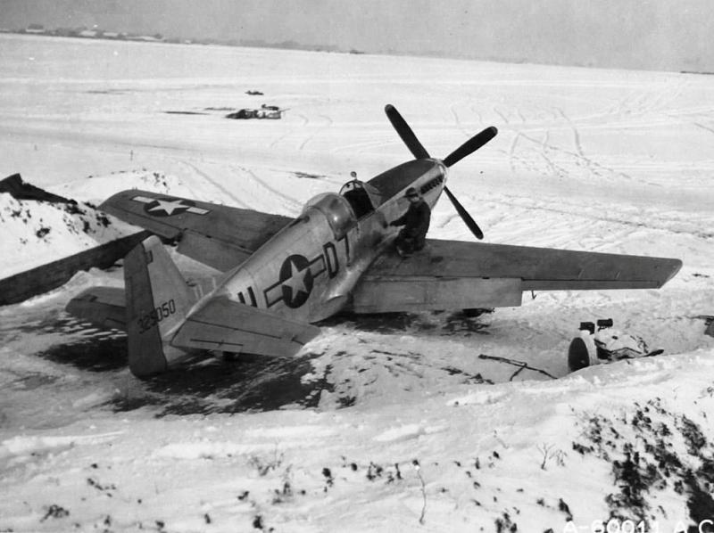 P-51C-10-NT Mustang s/n 43-25050 503rd FS, 339th FG, 8th AF Assigned to 1st Lt. Esteban A. Terrats, KIA in this aircraft on the March 2,1945 escort mission to Ruhland, Germany. Photo taken at RAF Fowlmere, England.