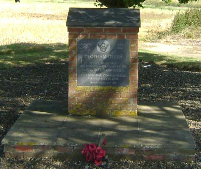 Deopham Green Memorial