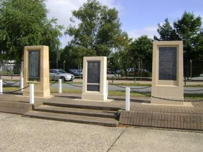 Barrack Square Memorials, Martlesham