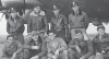 The Leo Belskis crew :  Top row, from left to right : Pilot Leo Belskis; Co-Pilot Glenn C. Vaugh; Navigator James V. Collett; Bombardier Ross W. Perrin Jr. Bottom, from left to right : Top Turret Gunner Walter R. Newman; Right Waist Gunner Durward V. Suggs; Tail Gunner Robert P. Rogers; Radio Operator Elvis A. McCoy; Ball Turret Gunner Lynn J. Lauret Jr.  All except Mc Coy and Lauret were killed on the 11 December 1944 mission to Mannheim – B-17G Serial 43-38780 of 381st Bomb Group / 532nd Bomb Squadron. (Photo via the Perrin family).