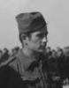 S/Sgt Paul Kirken (Air Medal award ceremony Cairo, Egypt, 1943) - Official USAAF photo (cropped from UPL 20477)