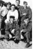 Enlisted men of the Robert Heichel crew in Georgia, USA, 1944.