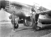 1LT Charles P. Bailey, Sr. (right) with his crew chief and his P-51C