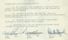 Decision Board of Review 1951 after investigation into Mr Donald Paul Breeden's MIA on October 14, 1943.