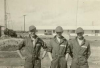 George Hogarth with Bill Cooper and  Ken MacVicar at 5 BFTS Riddle Field 1941/2
