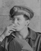 Lt Thomas H. Borders at Polebrook on 18 August 1942 (cropped from FRE 880)