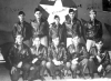 Capt. Harold L. Stouse's combat crew, June 1942. 2nd Lt. Jack W. Mathis is in the back row, far right. (U.S. Air Force)