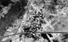445th BG - Mission #258 - 21 Mar 45 Achmer, Germany - German airfield 40 acft dispatched; 2 aborts; 38 acft dropped 360x500# GP and 480x100# IB Me-262 airfield in support of Operation Varsity, The Crossing of the Rhine by amphibious and airborne assault