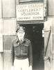 325th Station Complement Squadron Orderly Room, unidentified man.