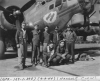 Hancock's crew of the 8th AF's 398th Bomb Group by their B-17,