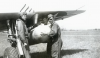 Jack L. Tueller (left) Fighter Pilot  404th FG - 508th FS - 9th AF SGT Helms in the foreground on the right