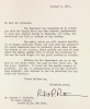 Letter from Secretary of War advising George C. Richards of the awarding of Purple Heart to George E. Richards.