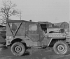 398th Bomb Group, 603rd Bomb Squadron, Jeep at Nuthampstead.