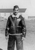 Sergeant Bill Carter, 398th Bomb Group, 603rd Bomb Squadron, at Nuthampstead.