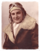 1Lt Eugene J Zakovec,  entered the USAAF from: Nebraska. He trained as a fighter pilot and served with the 385th Fighter Squadron. On the 9th April 1945 Eugene was part of an Escort operation supporting 8th Air Force bombers on a mission to Germany. He was flying in the No.4 position of a flight from the 384th Fighter Squadron when they approached the German airfield at Rheine. He attacked the airfield and when he was pulling out of his strafing run his P-38 Lightning (42-67957) was hit by heavy ground fire. The aircraft climbed steeply for about 100ft and then slammed into the ground and exploded, killing Eugene outright. He is buried in the Ardennes American Cemetery Neupre, Belgium...  Photo source: Patty Carr
