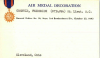 Frederick Grenwis' Air Medal card on page 514 at https://catalog.archives.gov/id/139434590 (NARA)