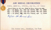 Abner Fisch's Air Medal card on page 535 at https://catalog.archives.gov/id/138803465 (NARA)